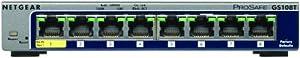 NETGEAR GS108T-200UKS ProSAFE 8 Port Gigabit Smart Switch