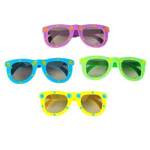 Fish Print Child Sunglasses (1 dz) by Fun Express - 1