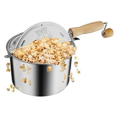 Great Northern Popcorn 6251 Original Stainless Stove Top Popper from DTX International Inc