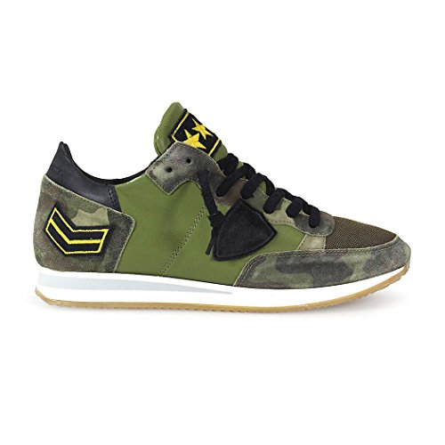 SNEAKER TROPEZ ARMY CAMOUFLAGE PHILIPPE MODEL