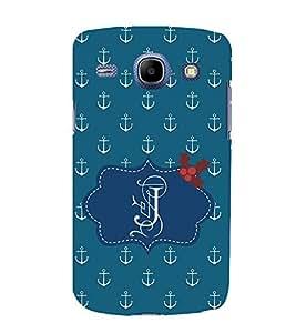 EPICCASE anchor of J Mobile Back Case Cover For Samsung Galaxy Core (Designer Case)