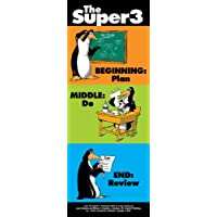 Super3 Sam Bookmarks (package of 200, 3