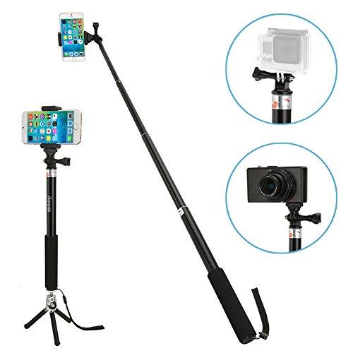 save 73 monopod selfie stick ikross smartphone camera monopod selfie handheld extendable. Black Bedroom Furniture Sets. Home Design Ideas
