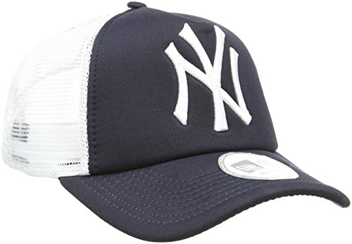 New Era - MLB  Trucker NY Yankees, Baseball beretto da uomo, blu (navy), unica