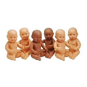 Children's Anatomically Correct Light Skin Boy & Girl Dolls