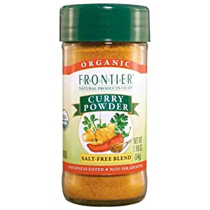 Frontier Curry Powder Certified Organic, 1.9-Ounce Bottles (Pack of 3)