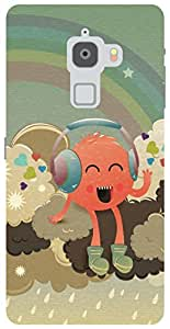 The Racoon Lean Radiohead hard plastic printed back case/cover for Letv Le Max