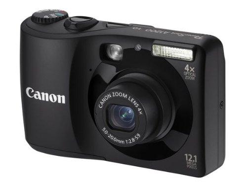 Canon POWERSHOT A1200 BLACK 121MP 4X OPT ZOOM