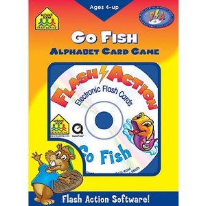 Flash Action Go Fish Alphabet Game