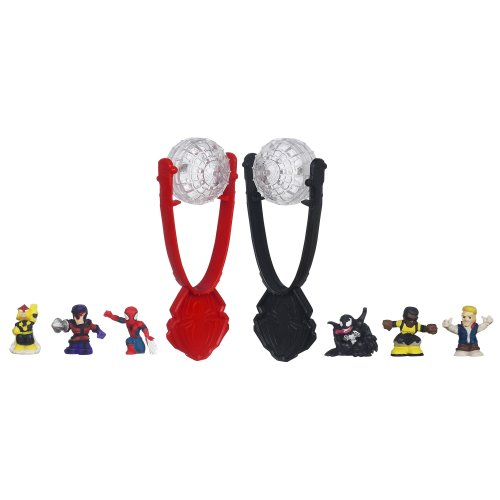 Spider-Man Marvel Ultimate Fighter Pods Series 1: Spider-Man vs. Venom Face-Off Pack