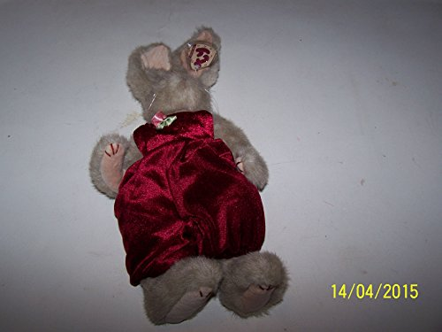 "Ty Attic Treasures Sidney 12"" Plush Bunny"