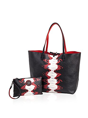 sydney-love-black-red-snake-red-reversible-tote-with-pouch