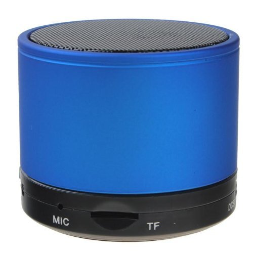 B S10 Wireless Mini Bluetooth Speaker Support Phone Call And Tf Card-Blue