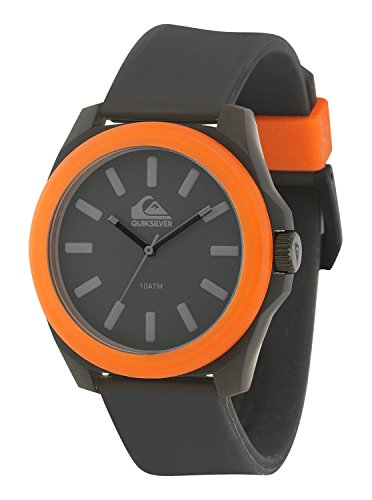 quiksilver-mens-qs-1015bkor-the-fader-orange-accented-black-silicone-strap-watch