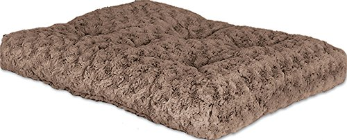 midwest-quiet-time-pet-bed-deluxe-mocha-ombre-swirl-35-x-23