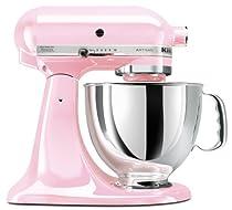 Hot Sale KitchenAid KSM150PSPK Komen Foundation Artisan Series 5-Quart Mixer, Pink