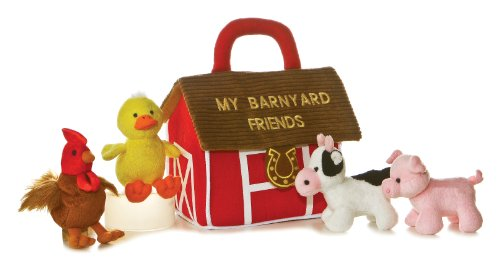 Aurora World Barn Yard Friends Carrier With Sound Picture