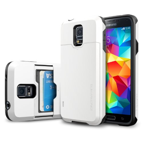 Spigen Slim Armor Coque pour Samsung Galaxy S5 Blanc