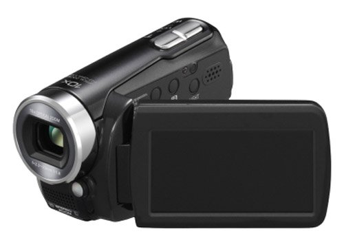 Panasonic SDR-S15 Flash Memory Camcorder With SD Card Slot - Black
