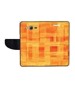 KolorEdge Printed Flip Cover For Samsung Galaxy Grand Prime Multicolor - (50KeMLogo10519SamS530)