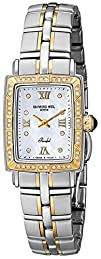 Raymond Weil Womens 9740-STS-00995 8220Parsifal 18k Gold-Plated