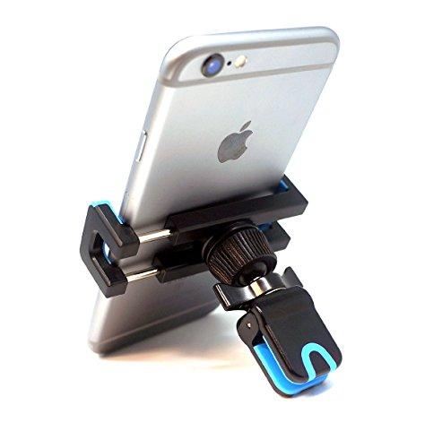 BrainWizz® 360 Air Vent - Porta cellulare, supporto da auto universale del supporto griglia di ventilazione / Ventilazione iPhone 5S / 6S iPhone / iPhone 6 / 6S Più iPhone / iPhone 6 Plus / S4 e S5 Samsung Galaxy e S6 / HTC uno / Sony Xperia / Nokia / Huawei / Acer / Google Nexus / Nexus 6 / LG / Xiaomi