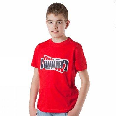 Puma Jungen Shirt rot rot 30-32