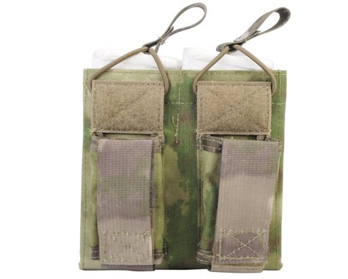 Emerson Tactical Molle 5.56 Pistol Double Open Top Magazine Pouch for Belt A-TACS FG (Emerson Tactical Belt compare prices)