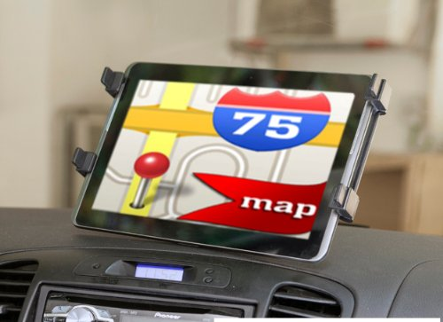 Windshield Car Mount Holder For Ipad 1/2/3 front-308075