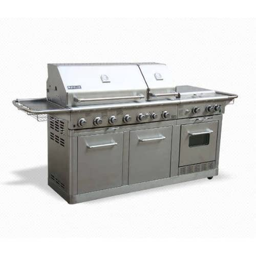 Amazon Com Jenn Air Deluxe Outdoor Gas Kitchen Grill