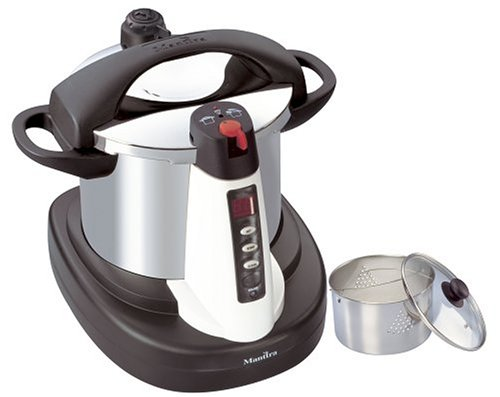 Manttra 39001 Chef Xpress 8 Quart Stainless Steel Electric Multi