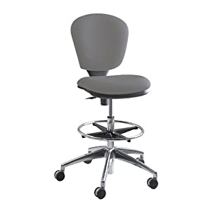 Safco Products Metro Extended-Height Chair, Gray, 3442GR