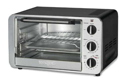 New Waring Pro TCO600 1500-Watt 6-Slice Convection Toaster Oven (Certified Refurbished)