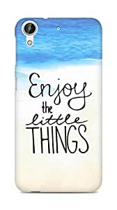 AMEZ enjoy the little things Back Cover For HTC Desire 626 G