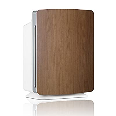 Alen BreatheSmart FIT50 Air Purifier with Oak Cover, SmartSensor and WhisperMax Technology