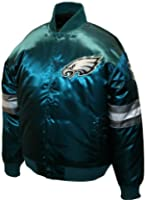 NFL Mens Philadelphia Eagles Prime Satin Jacket by MTC Marketing, Inc