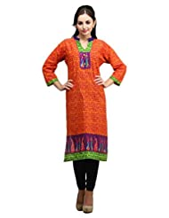 Dashmesh Womens Cotton Straight Kurta (De103 )