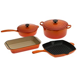 Le Creuset Enameled 6 pc Set