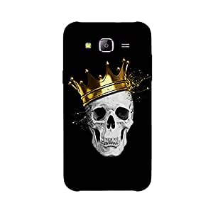 Back cover for Samsung Galaxy J1 Ace Royal Skull
