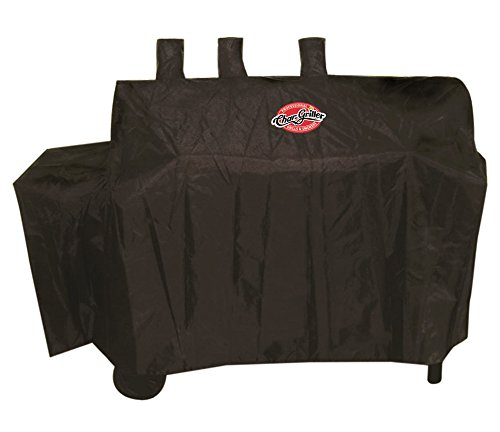 Char-Griller 8080 Grill Cover, Fits Duo 5050 Gas-and-Charcoal Grill (Charcoal Smoker Cover compare prices)