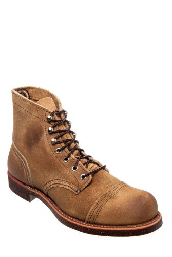 Red Wing Men's 8113 Iron Ranger Flat Boot