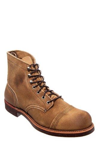 Red Wing Men's 8113 Iron Ranger Flat Boot
