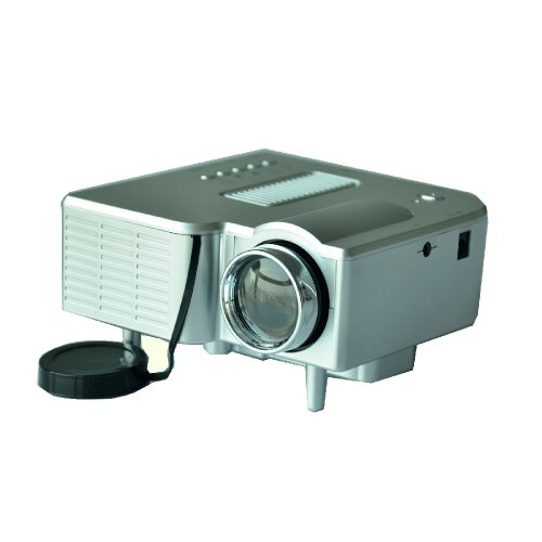 Silver Color Led Pico Mini Portable Hdmi Home Theater Pocket Multimedia Projector 60 Inches 20000 Hrs Image Aspect Ratio:4:3 Native Resolution: 320*240 Contrast Ratio:300:1 Image Brightness: 50 Lumens Size:127*127*65 Mm Weight: 0.38Kg Exchange To 16:9 Sup