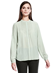 Autograph Pure Silk Pointelle Blouse