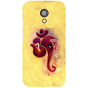 Motorola Moto G (2nd Gen) Back Cover - Om Sign Designer Cases