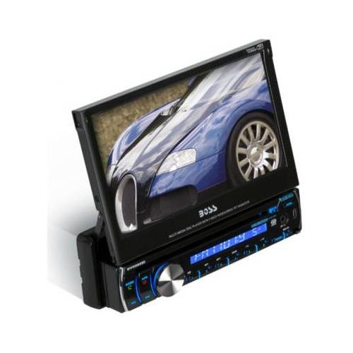 must have gadgets boss audio bv9986bi boss audio bv9986bi single din 7 touchscreen tft dvd cd receiver full ipod control and bluetooth