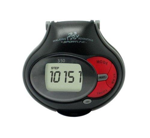 Cheap Sportline Walking Advantage 350 Scanning Pedometer (wv_3478bk)