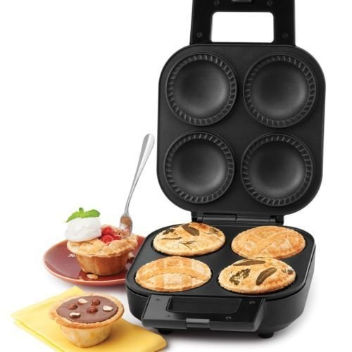 New Shop Wolfgang Puck 4-Piece Deep Pie & Pastry Maker *Brand New