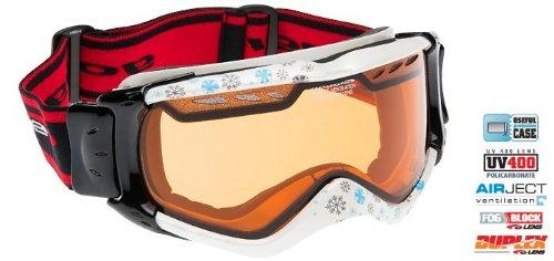Goggle Drago Skibrille Snowboardbrille mit Ventilation FOGBLOCK SYSTEM