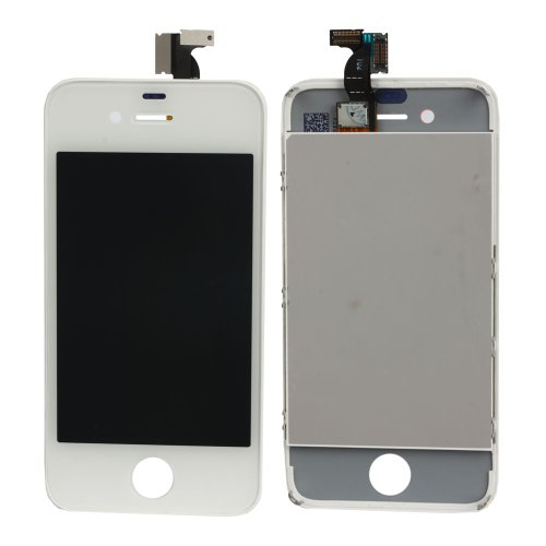Replacement Digitizer And Touch Screen Lcd Touch Screen Assembly For Iphone 4 Assembly Cdma Version White
